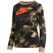 Tee-Shirt Nike Junior Camouflage Manches Longues Kaki