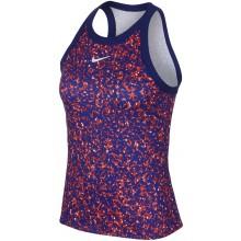 Débardeur Nike Femme Court Imprimé Violet