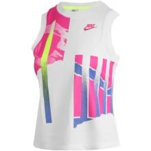 Débardeur Nike Femme Court New York Blanc