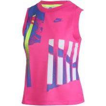 Débardeur Nike Femme Court New York Rose