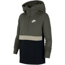 Sweat Nike Junior Sportswear à Capuche Zippé Kaki