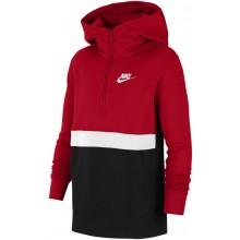 Sweat Nike Junior Sportswear à Capuche Zippé Rouge