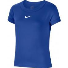Tee-Shirt Nike Junior Fille Dry Bleu