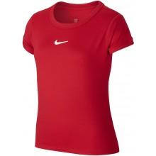 Tee-Shirt Nike Junior Fille Dry Rouge