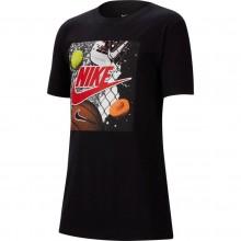 Tee-Shirt Nike Junior Sportswear Playground Futura Noir