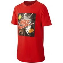 Tee-Shirt Nike Junior Sportswear Playground Futura Rouge