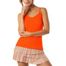 Débardeur Lucky in Love Strappy Point Orange