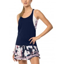 Débardeur Lucky In Love Lush Stripe Crop Layer Marine