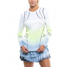Tee-Shirt Lucky In Love Femme Going Wild Manches Longues Blanc