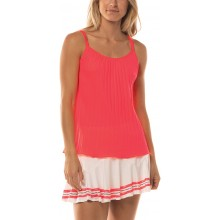 Débardeur Lucky In love Pleated Strappy Corail