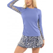 Tee-Shirt Lucky In Love Femme Level Up Manches Longues Bleu