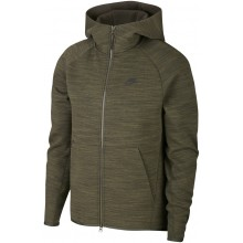 Sweat Nike Sporteswear Tech Fleece Zippé à Capuche Kaki