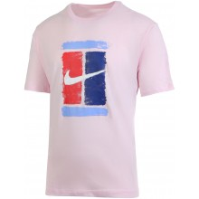 Tee-Shirt NikeCourt Rose