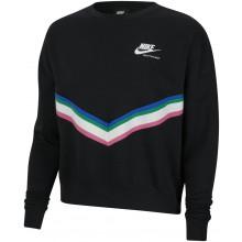 Sweat Nike Femme Sportswear Tricolore Noir