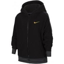 Sweat Nike Junior Fille Therma à Capuche Zippé Noir