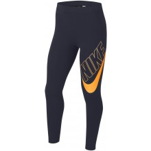 Collant Nike Junior Fille Sportswear Marine