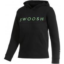 Sweat Nike Junior Swoosh à Capuche Noir