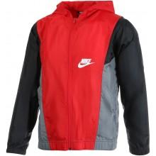 Veste Nike Junior à Capuche Zippée Rouge