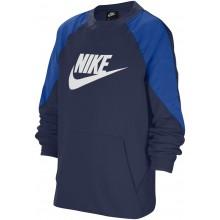Sweat Nike Junior Sportswear Ras du Cou Bleu