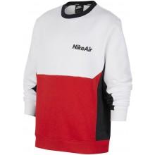 Sweat Nike Junior Sportswear Ras du Cou Blanc