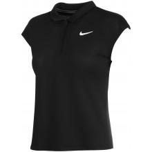 Polo Nike Court Femme Victory Dri-Fit Polyester Sans Manches Noir