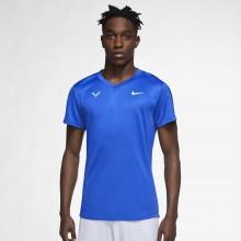 Tee-Shirt Nike Court Rafa Challenger Bleu