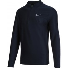 Tee-Shirt Nike Court Breathe Advantage Dri-Fit 1/2 Zip Manches Longues Marine