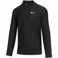 Tee-Shirt Nike Court Breathe Advantage Dri-Fit 1/2 Zip Manches Longues Noir