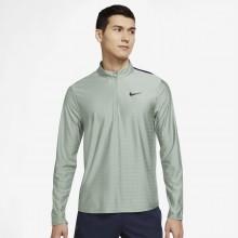 Sweat Nike Court Dri-Fit Advantage 1/2 Zip Vert
