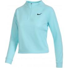 Tee-Shirt Nike Femme Vcitory Dry Manches Longues Court Bleu
