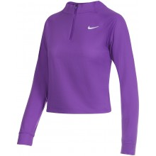 Tee-Shirt Nike Femme Vcitory Dry Manches Longues Court Violet
