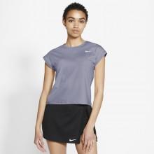 Tee-Shirt Nike Femme Court Victory Gris