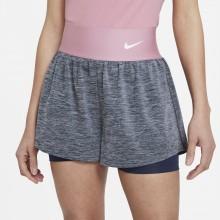 Short Nike Court Femme Advantage Obsidian