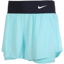 Short Nike Court Femme Advantage Bleu