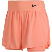 Short Nike Court Femme Advantage Orange