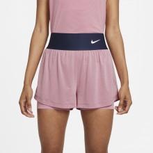Short Nike Court Femme Advantage Rose