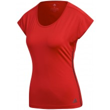Tee-Shirt Adidas Femme Barricade Rouge