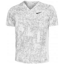 Tee-Shirt Nike Court Dry Victory Top Print Blanc