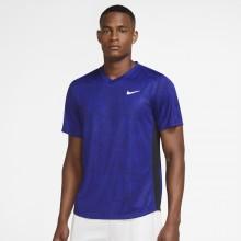Tee-Shirt Nike Court Dry Victory Top Print Marine