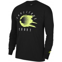 Tee-Shirt Nike Court Manches Longues Noir