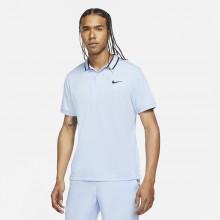 Polo Nike Court Dry Victory Piqué Bleu
