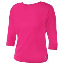 Tee-Shirt Adidas Femme Advantage Manches 3/4 Rose