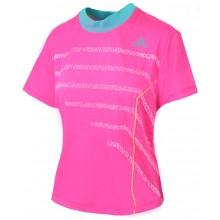 Tee-Shirt Adidas Femme Rule Mladenovic Rose