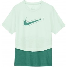 Tee-Shirt Nike Junior Fille Dri-Fit Trophy Vert