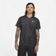 Tee-Shirt Nike Court Dri-Fit Victory Print Noir