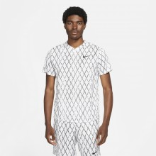 Tee-Shirt Nike Court Dri-Fit Victory Print Blanc