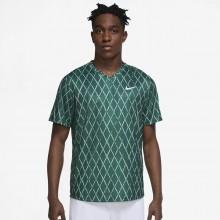 Tee-Shirt Nike Court Dri-Fit Victory Print Vert