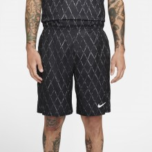 Short Nike Court Victory Print 9In Noir