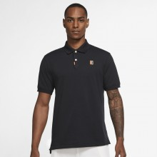 Polo Nike Heritage Slim Noir