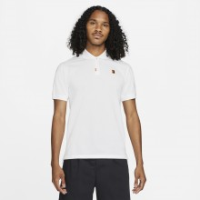 Polo Nike Heritage Slim Blanc